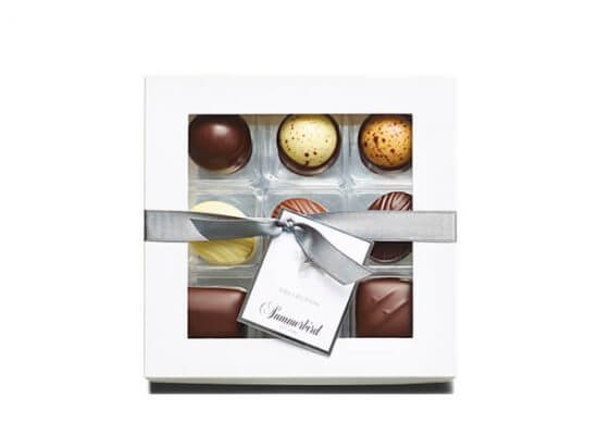 Chokoladeæske med logo