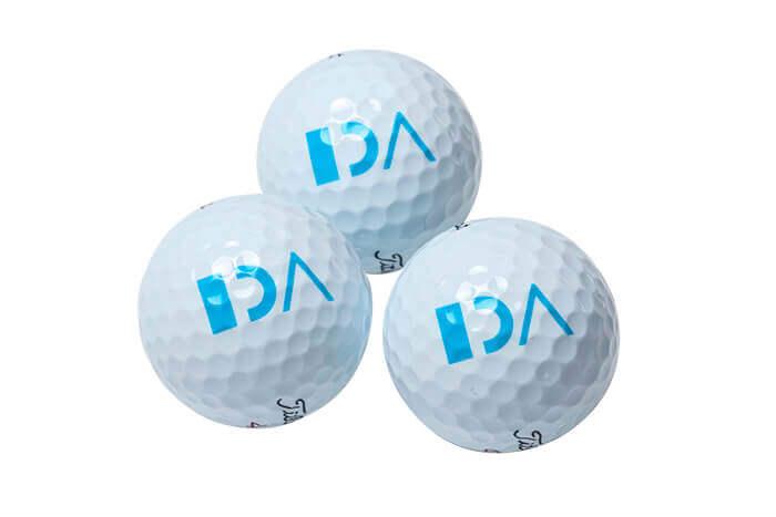 Golfudstyr med Logo