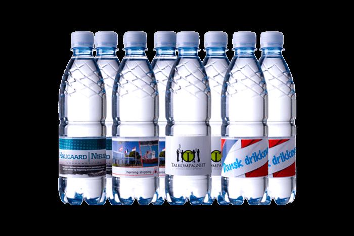 Flaske med logo