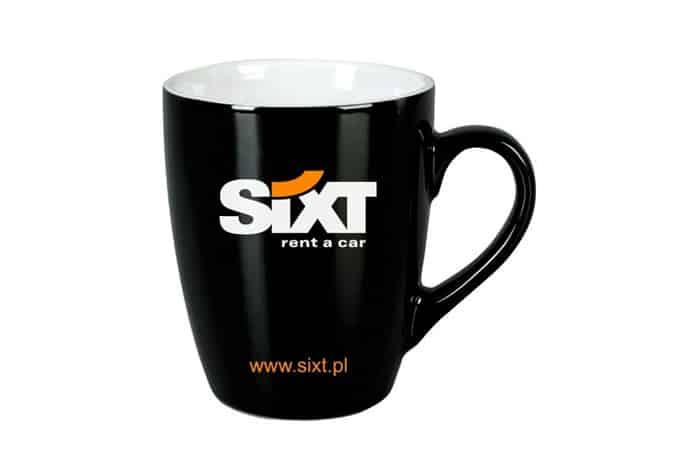 Kop med logo